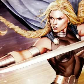 Valkyrie is listed (or ranked) 22 on the list The Best Female Comic Book Characters