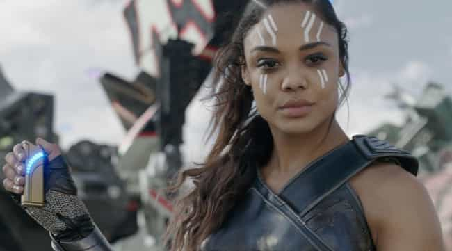 Valkyrie is listed (or ranked) 3 on the list 16 Members Of The MCU Whose Ages You Were Totally Wrong About