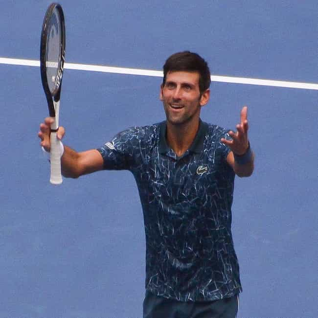 Novak Djokovic is listed (or ranked) 1 on the list The Best Tennis Players from Serbia