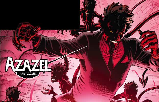 Azazel is listed (or ranked) 2 on the list Mystique's Long and (Shape) Shifting List of Lovers