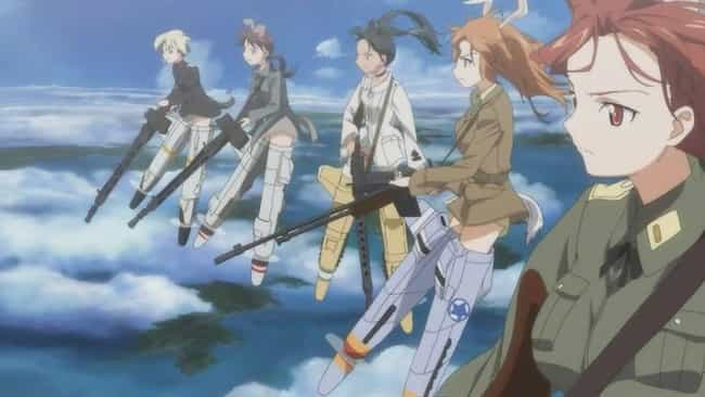 Strike Witches is listed (or ranked) 4 on the list The 15 Best 'Military Moe' Anime About Cute Girls In The Army