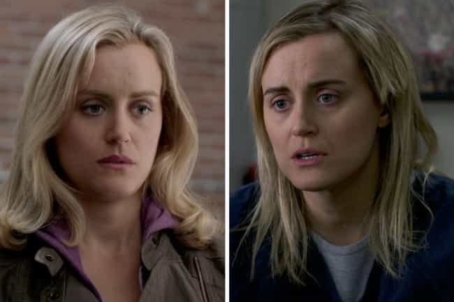 Taylor Schilling is listed (or ranked) 1 on the list How the Cast of Orange Is the New Black Has Aged Since the First Season