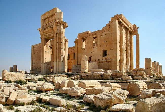 Temple of Bel is listed (or ranked) 2 on the list The Most Beautiful Historical Artifacts Destroyed By Terrorists Around The World
