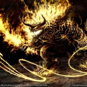 The Balrog is listed (or ranked) 18 on the list The Coolest Characters in Middle-Earth