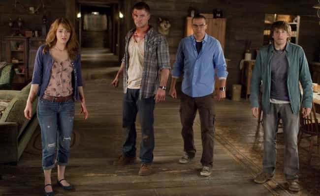 The Cabin in the Woods ... is listed (or ranked) 2 on the list 15 Surprisingly Good Movies About The Literal End Of The World