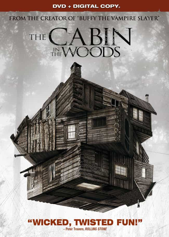 The Cabin in the Woods ... is listed (or ranked) 2 on the list 21 Films Accused of Copyright Infringement