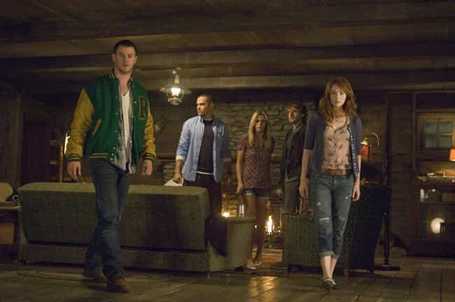 The Cabin in the Woods ... is listed (or ranked) 1 on the list The Funniest Horror Movies Of The 2010s