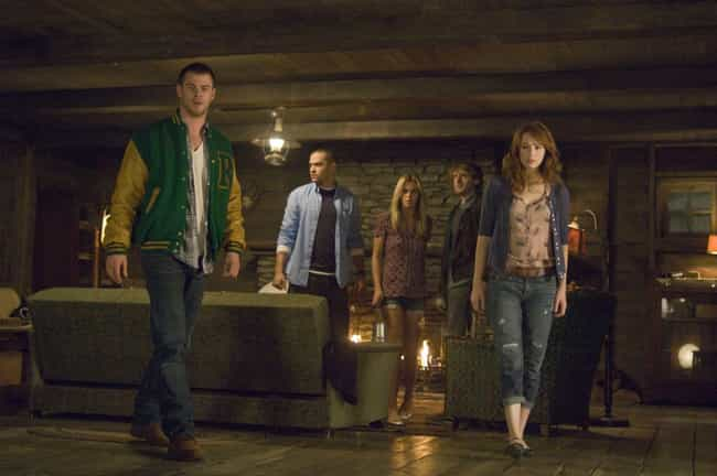 The Cabin in the Woods ... is listed (or ranked) 1 on the list The Best Slasher Films Of The 2010s