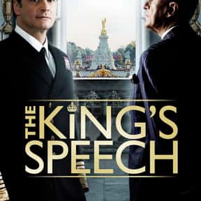 The King's Speech is listed (or ranked) 23 on the list The Best R-Rated Movies That Blew Up At The Box Office