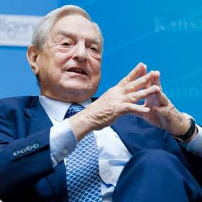 George Soros is listed (or ranked) 7 on the list Famous Entrepreneurs from the United States