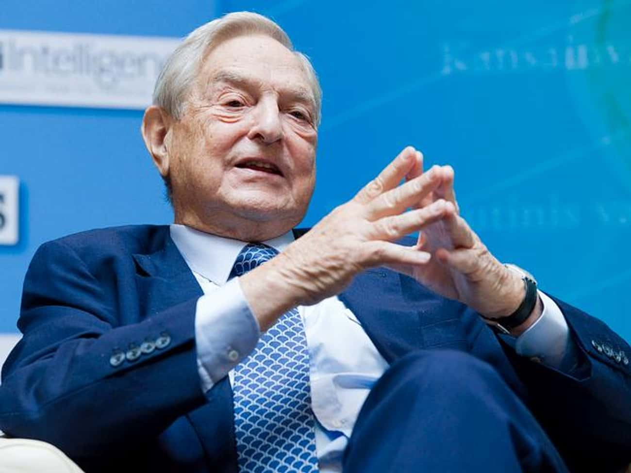 George Soros is listed (or ranked) 2 on the list Famous Male Financiers
