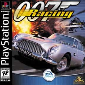 007 Racing is listed (or ranked) 22 on the list PlayStation 1 Games