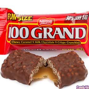 100 Grand Bar is listed (or ranked) 18 on the list The Best Chocolate Bars