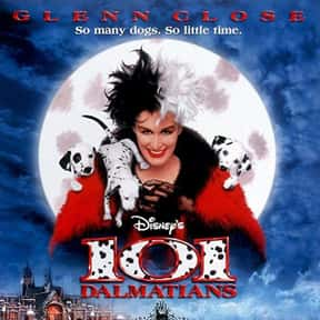 101 Dalmatians is listed (or ranked) 24 on the list The Best Movies of 1996