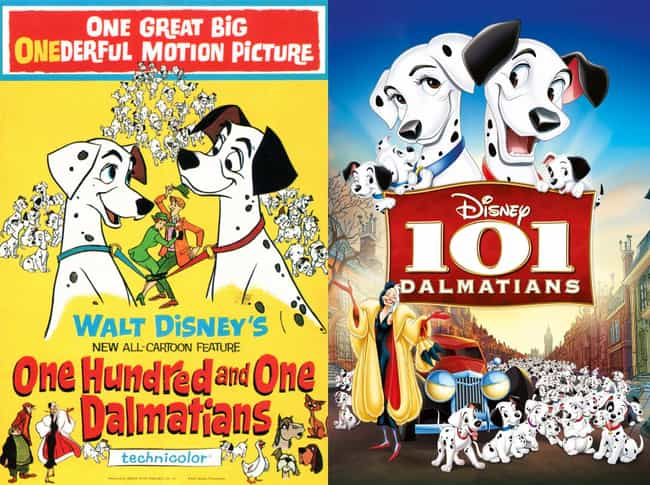 101 Dalmatians is listed (or ranked) 6 on the list 20 Iconic Original Disney Posters VS. Today's Re-Release Covers
