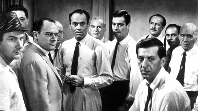 12 Angry Men is listed (or ranked) 3 on the list Actual Lawyers Explain Which Legal Movies They Like The Best