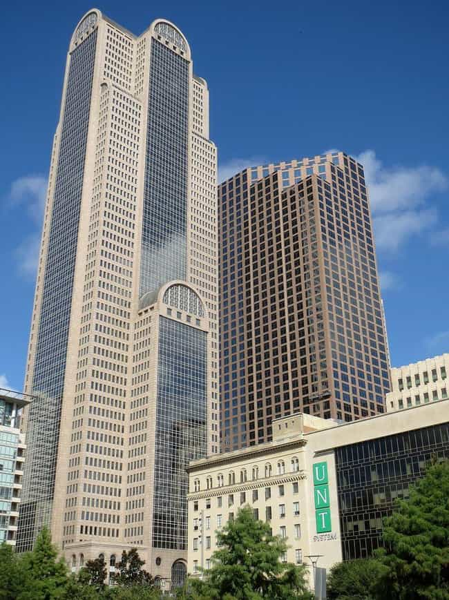 1700 Pacific is listed (or ranked) 3 on the list List of Famous Dallas Buildings & Structures