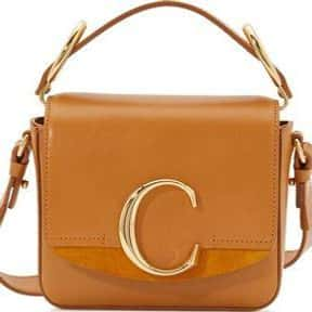 Chloé is listed (or ranked) 18 on the list The Best Purse Designers