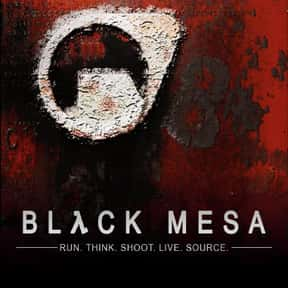 Black Mesa is listed (or ranked) 2 on the list Games Made With the Source Engine