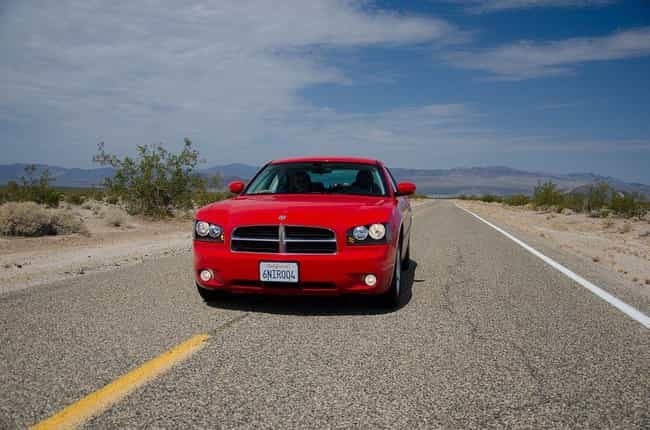 Dodge Charger Is Listed Or Ranked 3 On The List Full Of