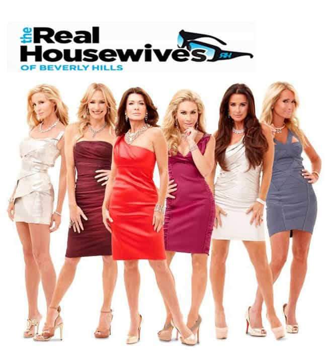 The Real Housewives of Beverly... is listed (or ranked) 2 on the list The Worst Shows Your Girlfriend Makes You Watch