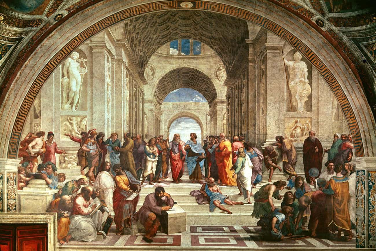 The School of Athens is listed (or ranked) 1 on the list The Most Amazing Pieces of Artwork Ever Made