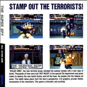 The Super Spy is listed (or ranked) 6 on the list List of SNK Playmore Beat 'em Ups