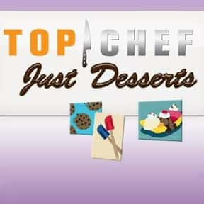Top Chef: Just Desserts is listed (or ranked) 20 on the list The Most Watchable Cooking Competition Shows