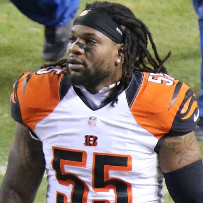 Vontaze Burfict is listed (or ranked) 2 on the list The Most Hated Players In The NFL Right Now