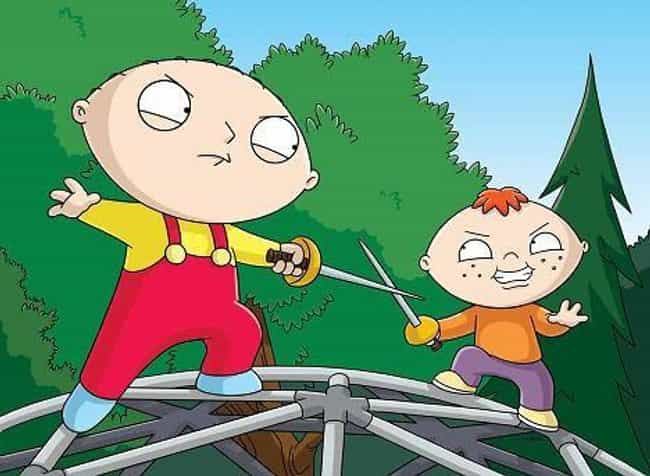 Sibling Rivalry is listed (or ranked) 4 on the list The Best Stewie Episodes of 'Family Guy'