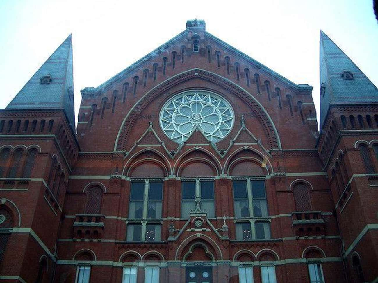 Cincinnati Music Hall is listed (or ranked) 3 on the list 14 Terrifying Haunted Theaters Across America