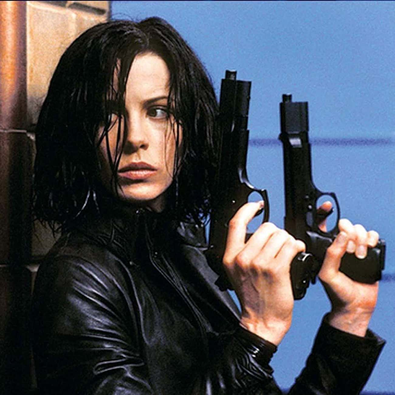 Selene - 'Underworld' is listed (or ranked) 3 on the list The Most Lethal Female Assassins in Film & TV