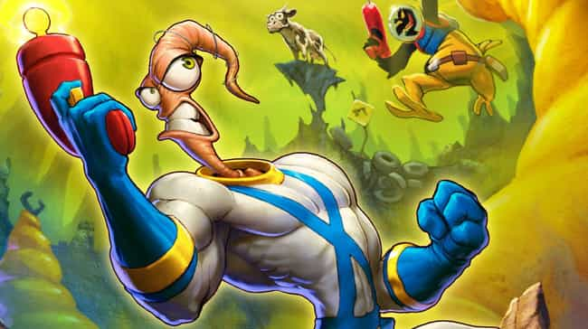 Earthworm Jim is listed (or ranked) 1 on the list 12 Forgotten Video Game Mascots That Need To Make A Comeback