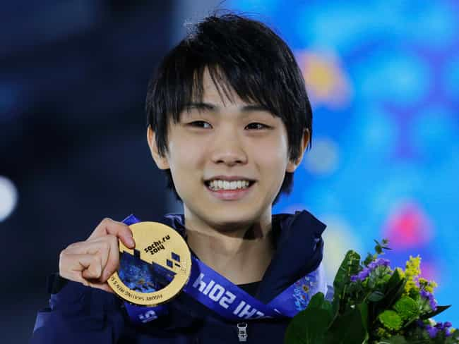 Yuzuru Hanyu is listed (or ranked) 1 on the list The Best Athletes of 2014