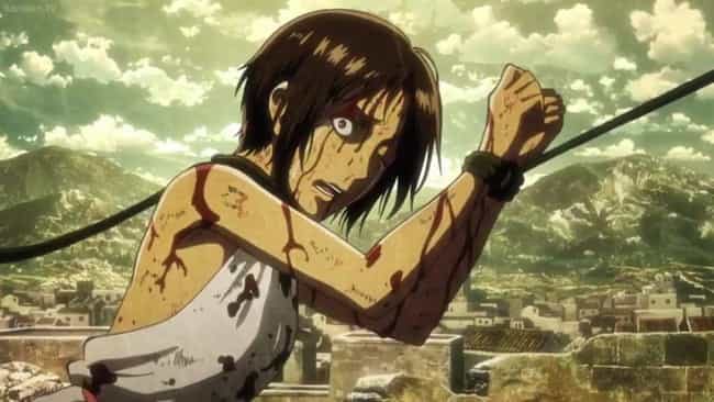 Ymir is listed (or ranked) 4 on the list 15 Anime Characters Who Suffered A Fate Worse Than Death