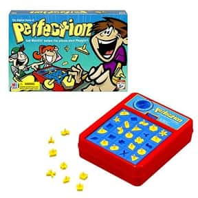 Perfection is listed (or ranked) 25 on the list The Best Board Games For Kids