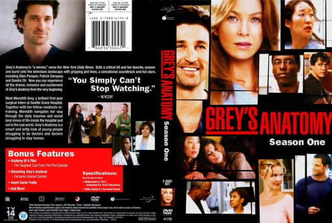Grey's Anatomy Season 1 is listed (or ranked) 4 on the list The Best Seasons of Grey's Anatomy