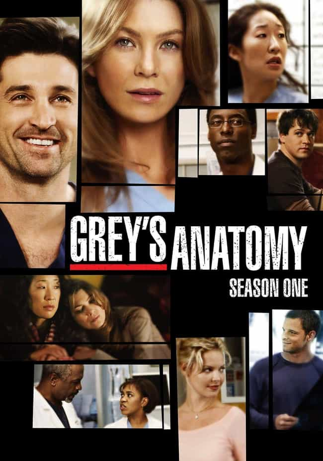 Grey's Anatomy Season 1 is listed (or ranked) 2 on the list The Best Seasons of Grey's Anatomy