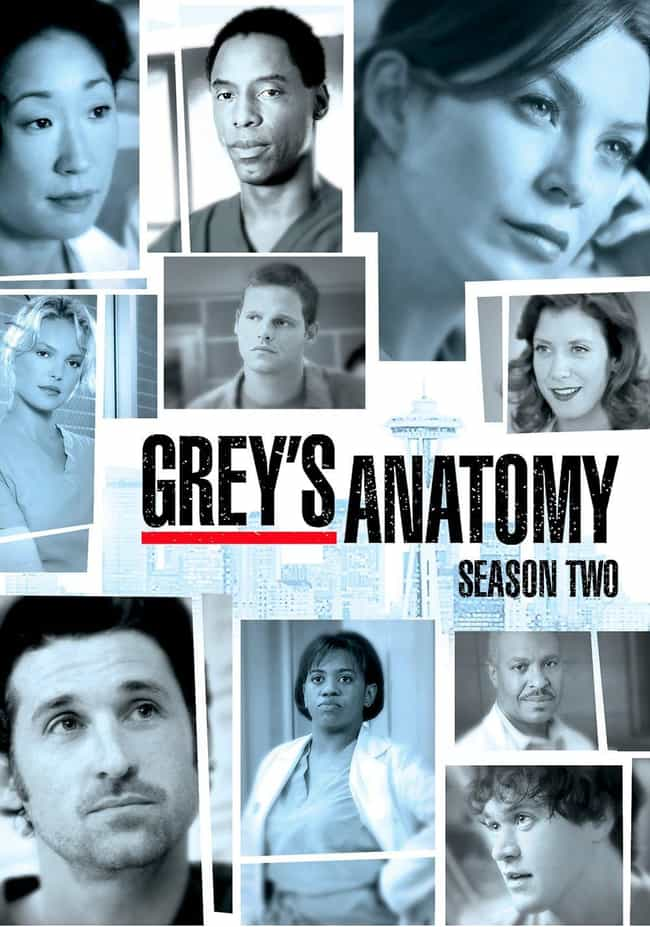 Grey's Anatomy Season 2 ... is listed (or ranked) 2 on the list The Best 'Grey's Anatomy' Seasons