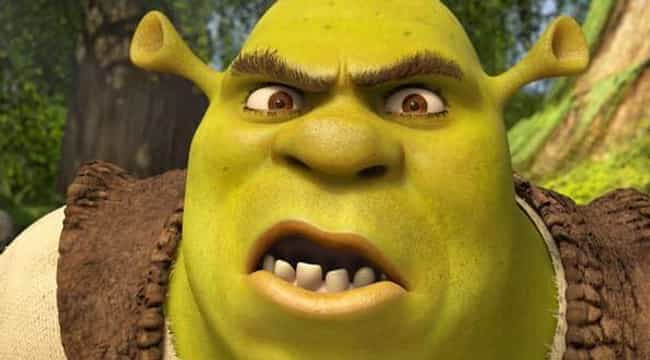 Shrek is listed (or ranked) 2 on the list 8 Stars Whose Unpopular Acting Methods Created Hugely Popular Characters