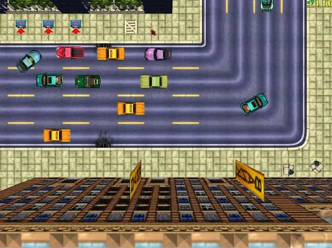 Grand Theft Auto is listed (or ranked) 1 on the list 15 Video Game Classics That Were Almost Never Made