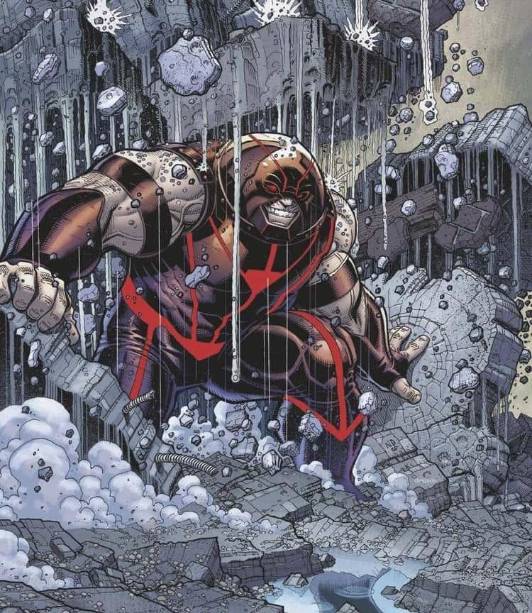 The Juggernaut May Be Professor X's Stepbrother - But He's Jugger-Not A Mutant