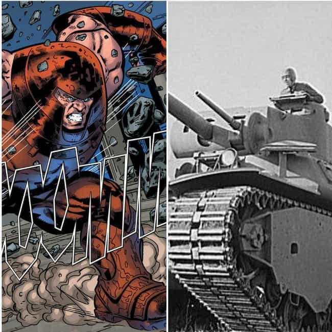 Juggernaut is listed (or ranked) 4 on the list 15 Pictures That Put The Enormous Marvel Characters In Perspective
