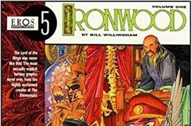 Ironwood is listed (or ranked) 1 on the list Adult Comic Book Series That Were Definitely Not Made For Children
