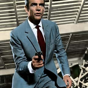 James Bond is listed (or ranked) 6 on the list Movie Tough Guys Without Super Powers or a Super Suit