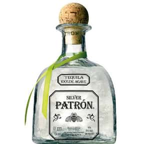 Patrón is listed (or ranked) 14 on the list What People Are Getting Drunk Off Of In Each State