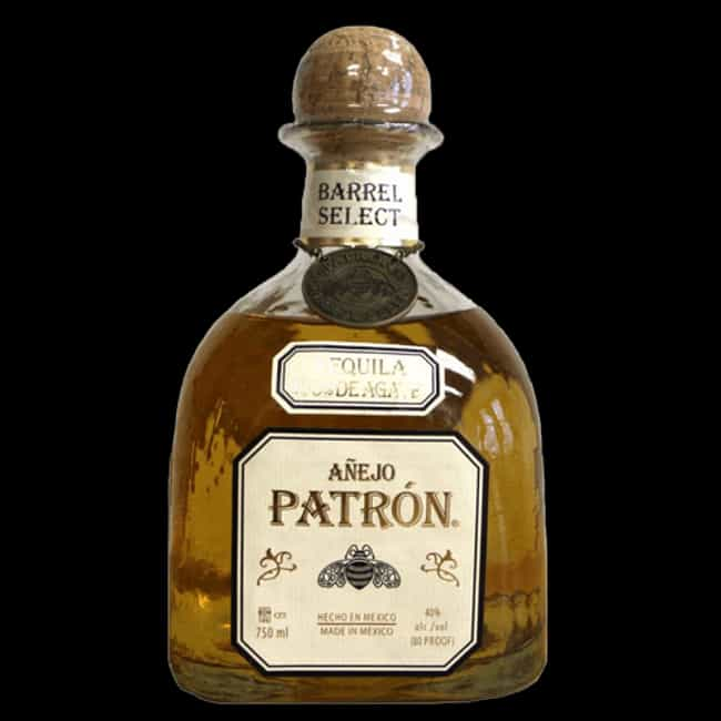 Patrón is listed (or ranked) 2 on the list The Best Tequila Brands