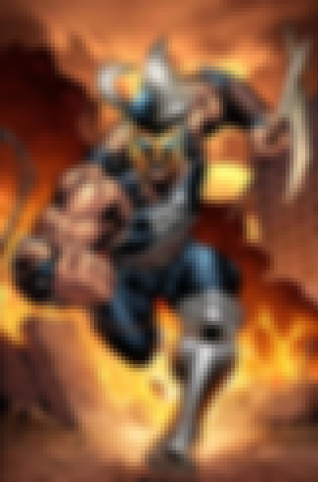 Ares is listed (or ranked) 5 on the list The Top 10 Comic Book Gods Worth Worshipping