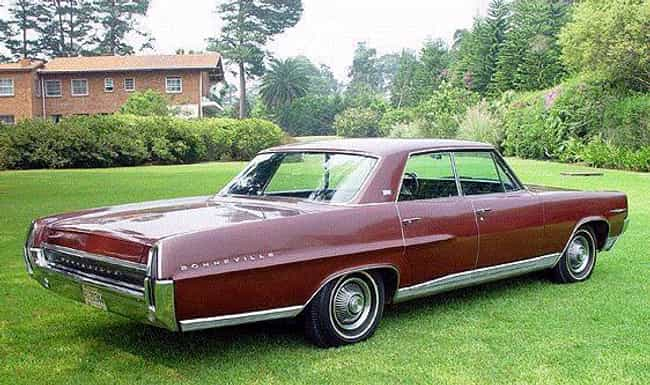 1964 Pontiac Bonneville is listed (or ranked) 4 on the list List of All Cars Made in 1964