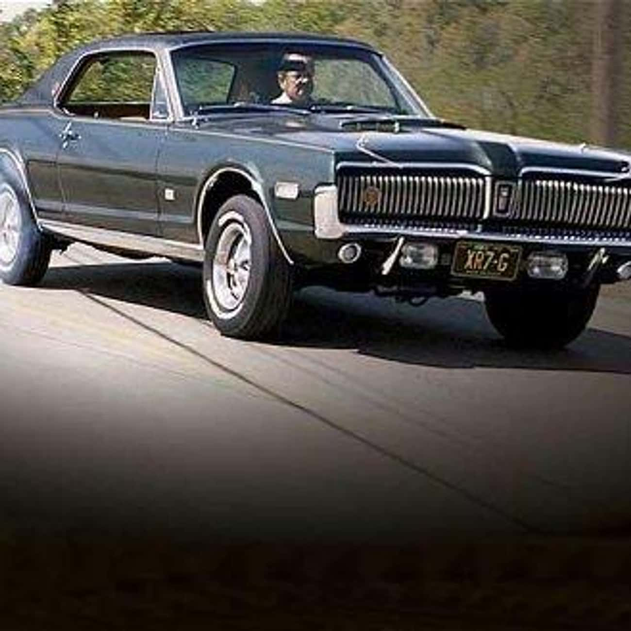 1967 Mercury Cougar is listed (or ranked) 1 on the list List of Popular Mercury Cougars